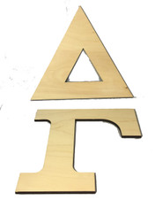 Delta Gamma Sorority Wood Letter