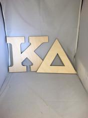 Kappa Delta Sorority Wood Letter