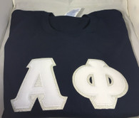 Shirt Inspiration Navy Double Stitched Letter Shirt – White Seersucker