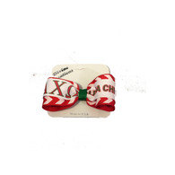 Alpha Chi Omega Sorority Hair Bow