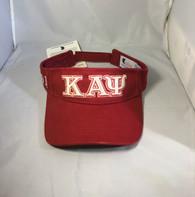 Kappa Alpha Psi Fraternity Visor Hat Cap