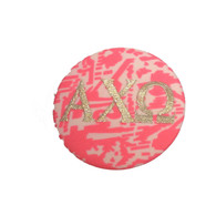 Fabric Button Inspiration- Pink Tribal