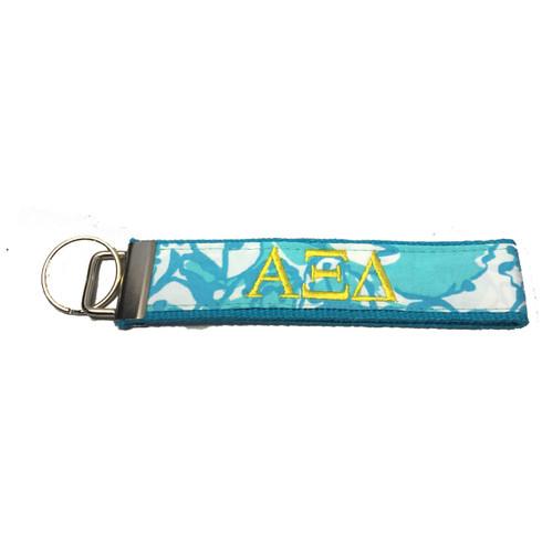 Alpha Xi Delta Sorority Key Fob- Style #2