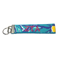 Zeta Tau Alpha Sorority Key Fob- Style #8