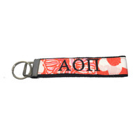 Alpha Omicron Pi Sorority Key Fob