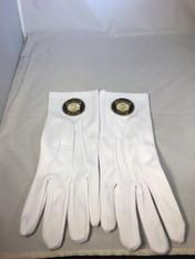 Mason Masonic RAM-Keystone Gloves