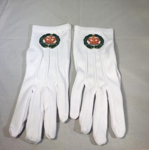 Order of the Eastern Amaranth Symbol Gloves