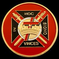 Mason Masonic Knights Templar Car Emblem