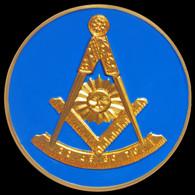 Mason Masonic Past Master Car Emblem