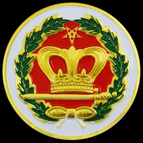 Order of the Eastern Star Amaranth Car Emblem