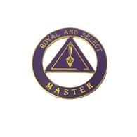 Mason Masonic Royal and Select Master Cut Out Car Emblem
