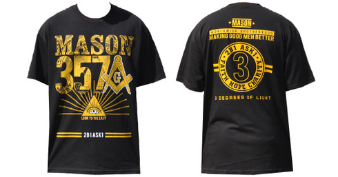 Mason Masonic 357 with Symbol Shirt