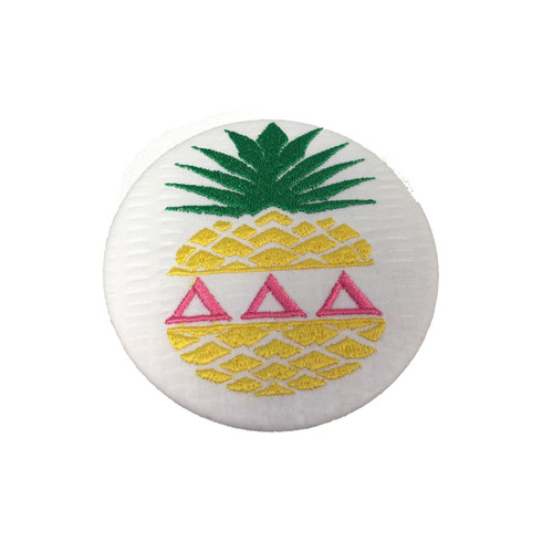 Fabric Button Inspiration- Pineapple