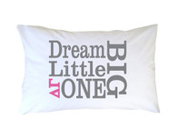 Delta Gamma Sorority Little Sister Pillow Case