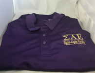 Sigma Alpha Epsilon SAE Fraternity Dri-Fit Polo