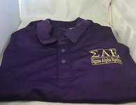 Sigma Alpha Epsilon SAE Fraternity Dri-Fit Polo