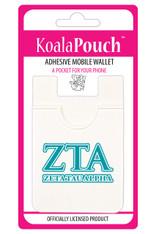Zeta Tau Alpha ZTA Sorority Koala Pouch
