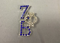Zeta Phi Beta Sorority Stacked Pin