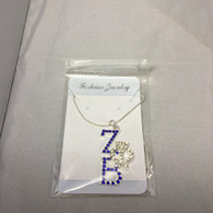 Zeta Phi Beta Sorority Stacked Necklace