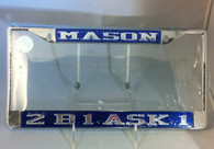Mason 2B1 Ask1 License Plate Frame
