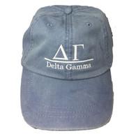 Delta Gamma Sorority Hat- Periwinkle