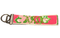 Alpha Chi Omega Sorority Key Fob- Style #2