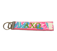 Alpha Chi Omega Sorority Key Fob- Style #3