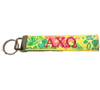 Alpha Chi Omega Sorority Key Fob- Style #5