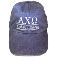 Alpha Chi Omega Sorority Hat- Purple