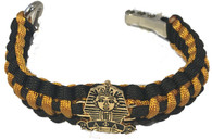 Alpha Phi Alpha Fraternity Survival Paracord Bracelet with Symbol
