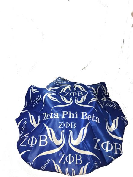 Zeta Phi Beta Sorority Sleep Bonnet Cap