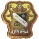Sigma Nu Fraternity Raised Wood Crest