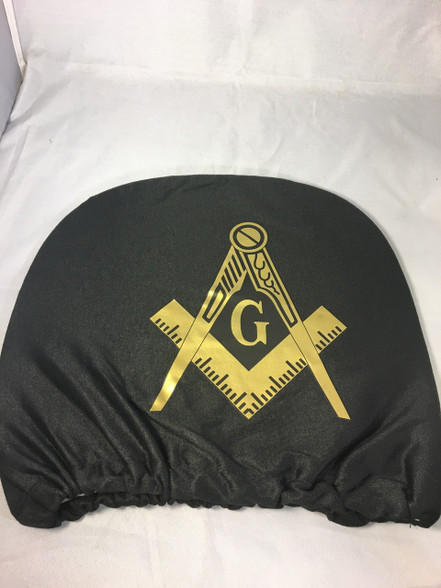 Mason Masonic Headrest Cover Set Of 2 Brothers And