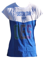 Order of the Eastern Star OES Rhinestone T-Shirt