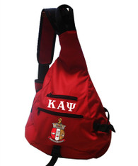 Kappa Alpha Psi Fraternity Sling Shoulder Bag Backpack