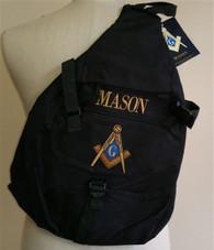 Mason Masonic Sling Shoulder Bag Backpack