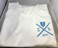 Sigma Chi Fraternity Tank Top- White