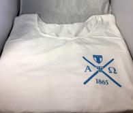 Alpha Tau Omega ATO Fraternity Tank Top- White