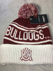 Alabama A&M University Beanie New Pom Beanie-Style 1