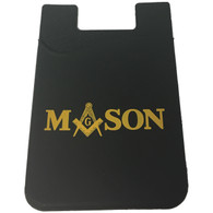 Mason Masonic Silicone Wallet