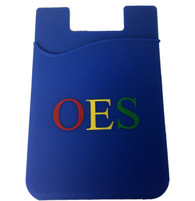 Order of the Eastern Star OES Silicone Wallet