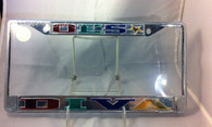 Order of the Eastern Star Diva License Plate Frame