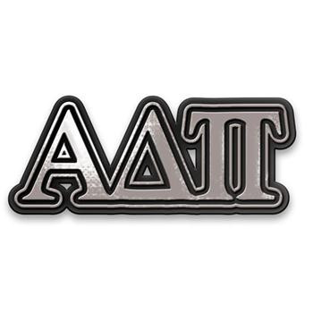 Alpha Delta Pi ADPI Sorority Chrome Car Emblem