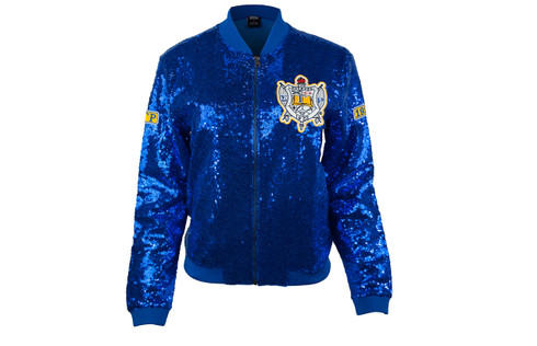 ff0d664b6a Sigma Gamma Rho Sorority Sequin Jacket - Brothers and Sisters  Greek ...