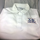 Chi Phi Fraternity Dri-Fit Polo-White