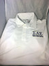 Sigma Alpha Epsilon SAE Fraternity Dri-Fit Polo-White