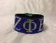 Zeta Phi Beta Sorority Bling Bracelet- Blue