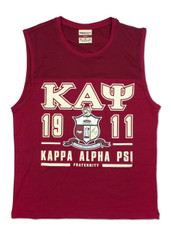 Kappa Alpha Psi Fraternity Tank Top- Crest
