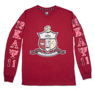 Kappa Alpha Psi Fraternity Long Sleeve Shirt