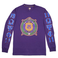 Omega Psi Phi Fraternity Long Sleeve Shirt